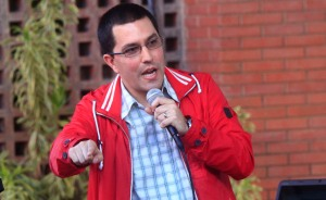 Arreaza: Chávez se encuentra mandando más que un dinamo