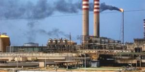 Centro de Refinación de Paraguaná está trabajando al 67% de su capacidad