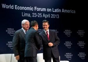 Foro Económico Mundial se centra en sostener crecimiento Latinoamericano
