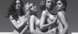 Cuatro ex misses ganadoras se desnudan juntitas (WOW)