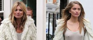 Este catirón hizo de doble de Kate Moss, pero está buena por su cuenta (desnudos + UFFF)