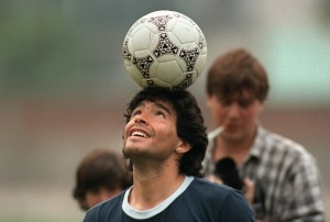 """""""Ciao Diego"""", el Nápoles se despide de su exjugador Diego Maradona"""
