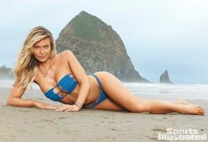 Podrás detallar los pezones de la espectacular Samantha para Sports Illustrated (mujerón)
