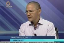 El mensaje que le envío Ernesto Villegas a su hermano Vladimir ante la cancelación de su programa
