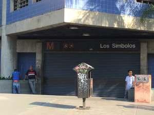 Metro de Caracas cerró tempranito las estaciones Ciudad Universitaria y Los Símbolos #21Nov