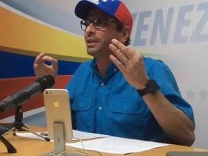 Capriles: Los maestros venezolanos le están dando un mensaje de firmeza y dignidad al régimen