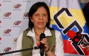 Sandra Oblitas, del CNE a rectora de la Universidad Bolivariana