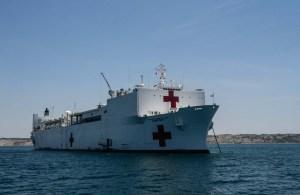 El USNS Comfort zarpa para aliviar efectos de crisis humanitaria venezolana