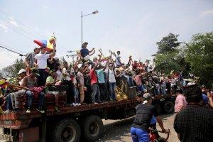 Testigo Directo: Lo que no se vio de la batalla en la frontera con Venezuela (Video)