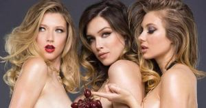 ¡Parecen trillizas! Gillian, Lauren y Kayleecomparte sus cuerpos entre copas, sushi y patilla (UFFF)