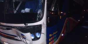 ¿Hasta cuándo? Otro equipo del #FutVe fue víctima del hampa en las peligrosas vías venezolanas (FOTOS)