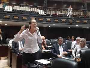 Manuela Bolívar: El cese de la usurpación no se debate, se logra todos los días en la calle