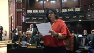 Nora Bracho presentó comunicación de rechazo de los diputados perseguidos por el régimen