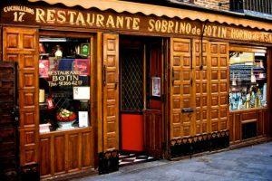 Botín desde 1725. El restaurant más antiguo del mundo