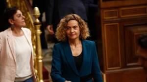 Meritxell Batet, presidenta del Congreso Español