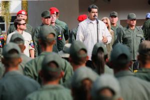 """Maduro insta a capturar a cualquier """"traidor"""" dentro de la Fuerza Armada"""