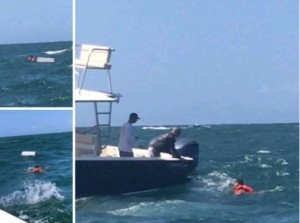 """El relato del capitán de la embarcación """"Ana María"""" que naufragó de Güiria a Trinidad y Tobago"""