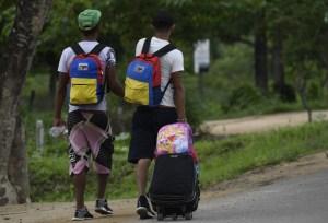 Francia aumentará su cooperación con Colombia en la crisis migratoria