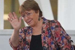 La primera jornada de Michelle Bachelet, apenas pisó el suelo venezolano