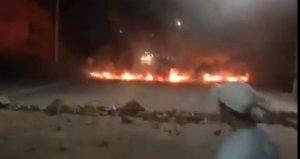 Honduras vive una noche de manifestaciones violentas pidiendo la salida del presidente (VIDEOS)