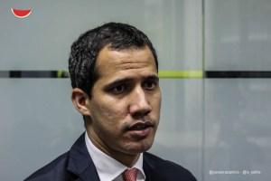 Guaidó pidió a Filippo Grandi que la región diseñe medidas para los migrantes venezolanos