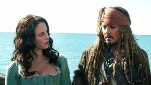 ¡Jack Sparrow está contento! Filtran nuevas fotos desnudas de la protagonista de Piratas del Caribe