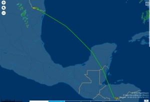 Confirman salida del avión presidencial hondureño; primera dama tendrá reunión en EEUU