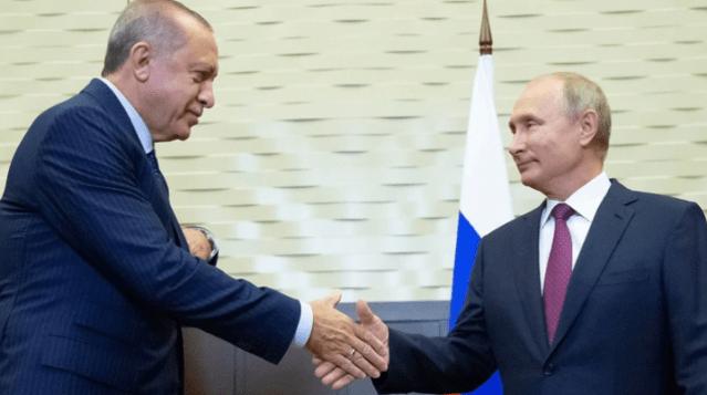 Erdogan y Putin en Sochi, Rusia (Reuters)