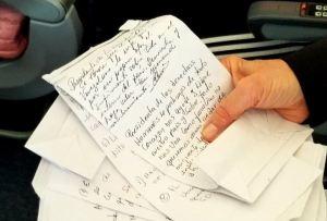 Las peticiones de los venezolanos que coincidieron con Bachelet en el avión (CARTAS)