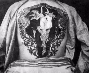 Increíbles FOTOS muestran el trabajo del primer tatuador inglés en la época victoriana