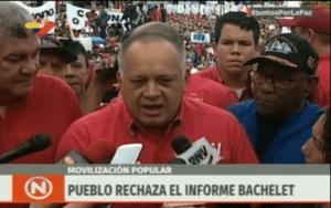 Cabello echó el CUENTO CHINO para incriminar al personal de seguridad de Guaidó (video)