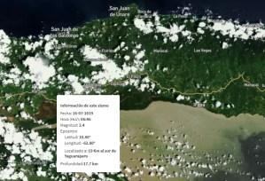 Sismo de magnitud 3,4 se registró en Yaguaraparo, estado Sucre #16Jul