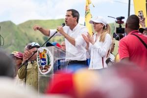 Guaidó intenta encender la chispa contra Maduro alentado por la situación en Bolivia