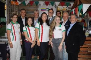 Cavenit puso el sabor italiano a la expo Venezuela Gourmet