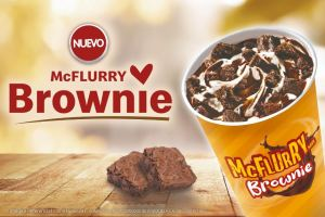 McDonald's presenta su nuevo McFlurry Brownie