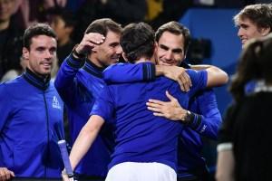 Federer y Nadal ganan y Europa sigue al frente en la Laver Cup