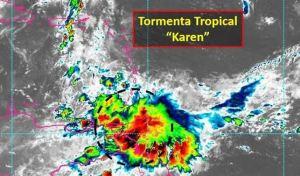 Tormenta tropical Karen obliga a desviar vuelos en Venezuela