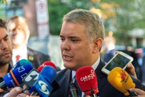 Duque dice que conversación nacional en Colombia empezará el domingo
