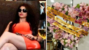 """Cómo fue el lujoso funeral de la """"La Kim Kardashian del Cartel de Sinaloa"""" (Fotos)"""