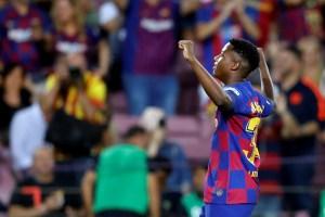 Ansu Fati, la perla que brilla con el Barcelona, podrá jugar con España el Mundial Sub 17