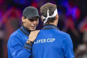 Nadal se retira del torneo por lesión y no jugará el dobles con Federer