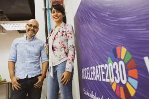 Emprendimiento venezolano quedó entre los 10 finalistas del Accelerate2030 en Suiza
