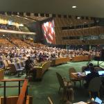 Países en la ONU abandonan emiciclo tras declaraciones de Delcy Rodríguez. Imagen cortesía.