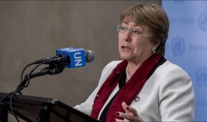 Bachelet pide a EEUU tomar medidas tras la muerte de un hombre negro a manos de policías