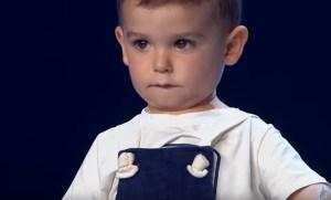 Con 2 años, el concursante más joven en la historia de Got Talent España (VIDEO)
