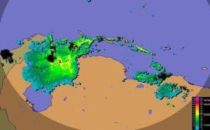 Nueva onda tropical causa fuertes precipitaciones y actividad eléctrica en la mayor parte del país, según Inameh