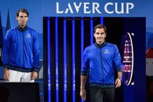 """Las indicaciones de Rafael Nadal """"en modo entrenador"""" a Roger Federer que recorrieron el mundo (Video)"""