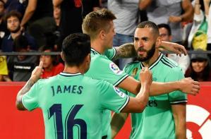 El Madrid resucita ante el Sevilla y el Athletic es nuevo líder