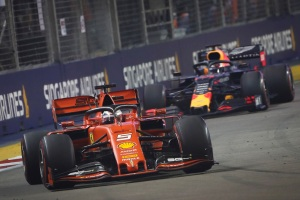 Sebastian Vettel se apoderó de la GP de Singapur de Fórmula Uno