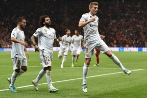 Real Madrid venció al Galatasaray en Champions League tras ocho meses de sequía